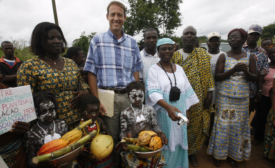 World Cocoa Foundation President Bill Guyton