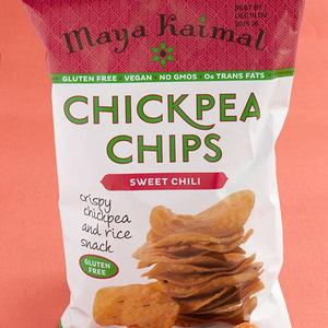 Maya Kaimal Fine Indian Foods Sweet Chili Chickpea Chips