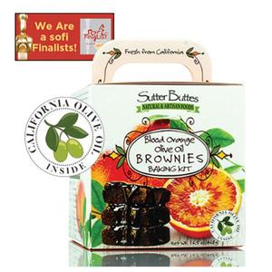 Sutter Buttes Natural and Artisan Foods Blood Orange Olive Oil Brownie Kit