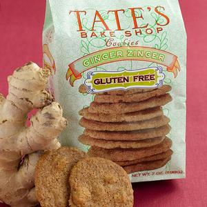 Tates Bake Shop Gluten Free Ginger Zinger Cookie
