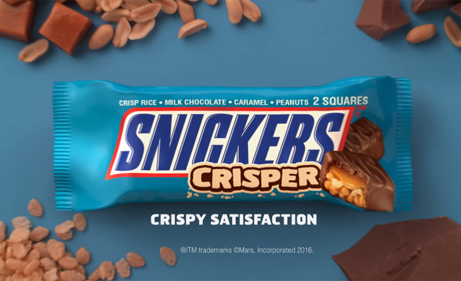 Snickers Introduces Crisper Bar In Golden Globes Telecast Spots 2016 01 13 Candy Industry