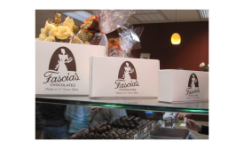 Fascia's Chocolates, located near the tracks of the Naugatuck Railroad, joined forces with the Railroad Museum of New England (RMNE) to create a unique travel experience.