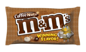 M&M's Coffee Nut wins the nation-wide Flavor Vote.