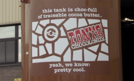 Tony's Chocolonely partners with Barry Callebaut to make 100 percent traceable, sustainable chocolate.