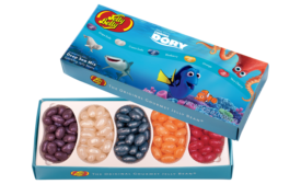 Jelly Belly launches a new Finding Dory collection based on the Disney/PIXAR film.