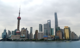 Shanghai is a prime example of China's rapid growth and urbanization.