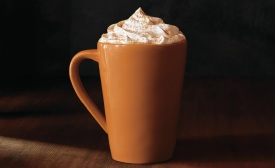 The dawn of fall brings an onslaught of Pumpkin-flavored products, much like this Pumpkin Spice Latte.