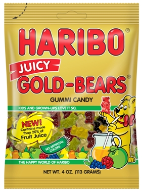Haribo Juicy Gold-Bears