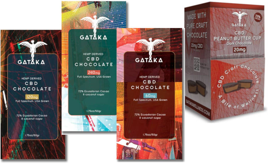 GATAKA Chocolate Bars