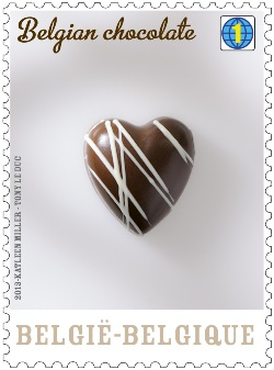ChocolateStampsHeart