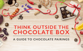 Chocolate pairings infographic