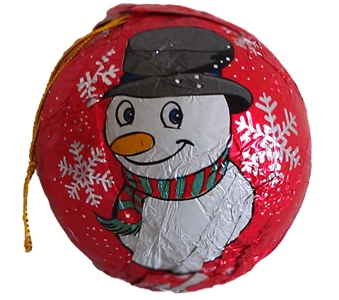 Candy Treasure Christmas Ornament