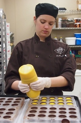 Kohler Chocolates Chef Anette Righi DeFendi,