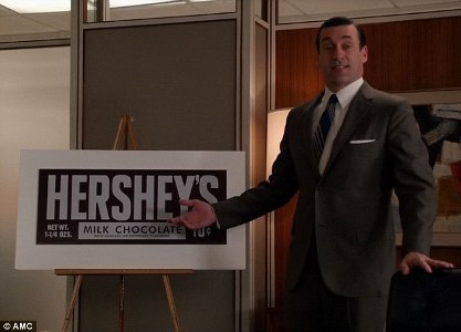 Mad Men Hershey Don Draper