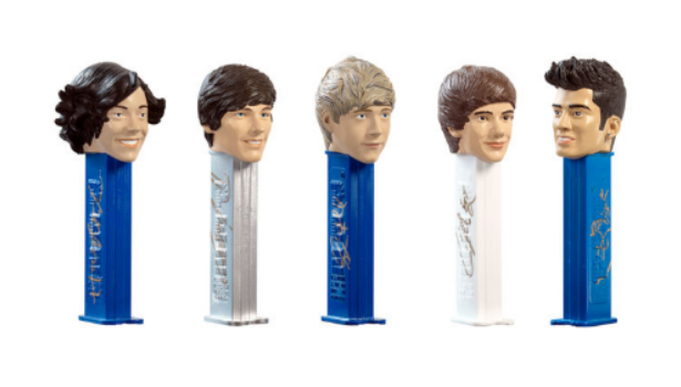 One Direction Pez Dispensers