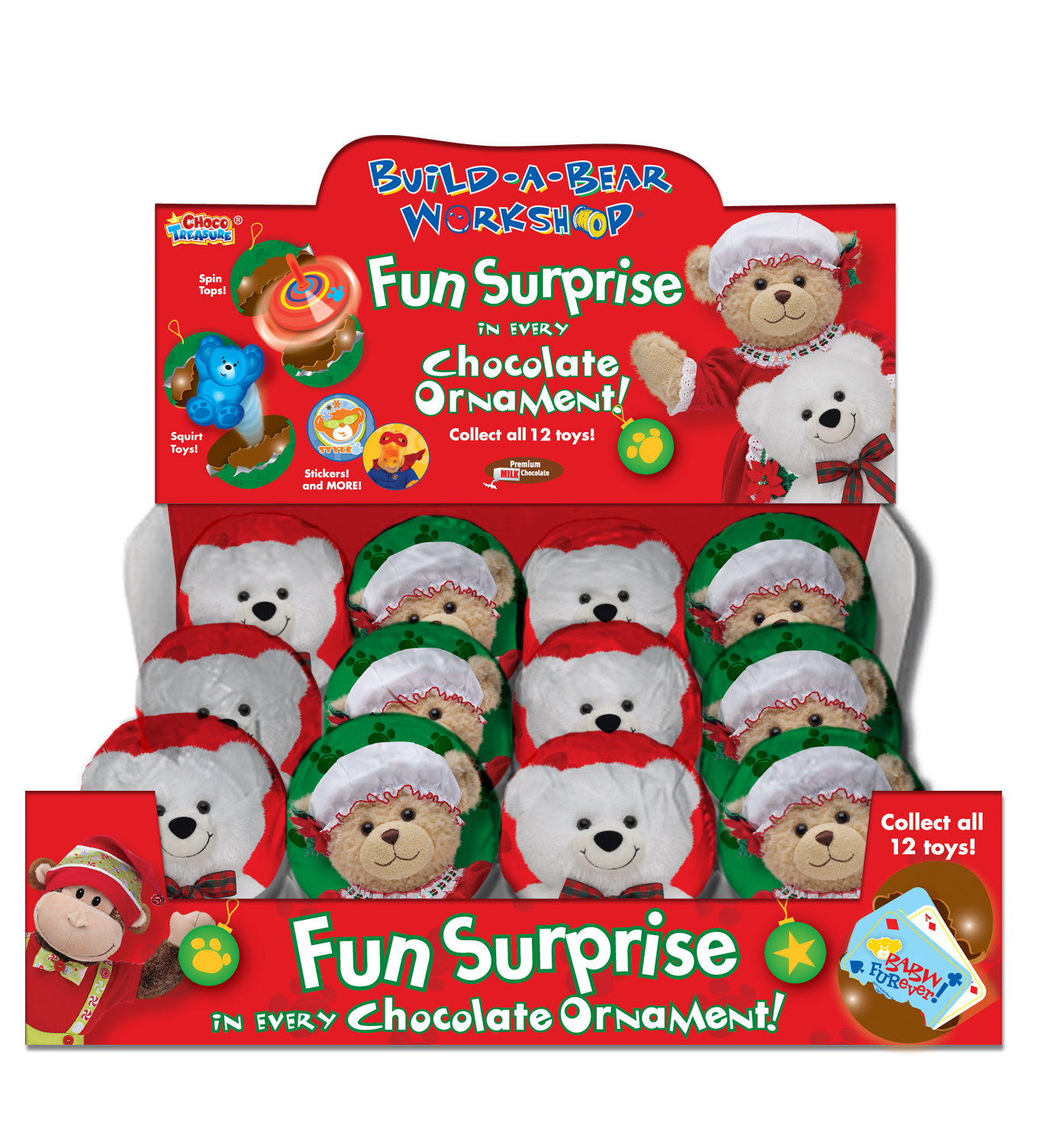 build a bear christmas chocolates