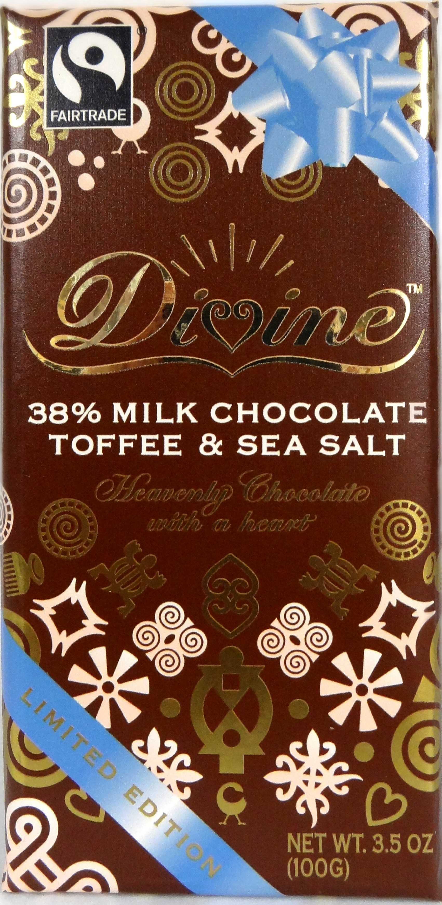 sea salt and toffee Divine chocolate