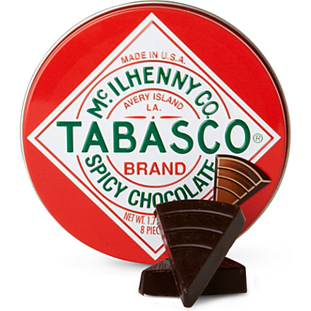 Tabasco Dark Spicy Chocolate Wedges Chocolate