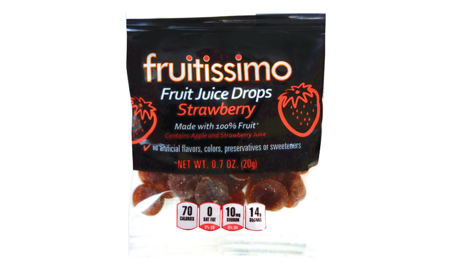 Fruitissimo's new Fruit Drops and Organic Fruit Snacks!
