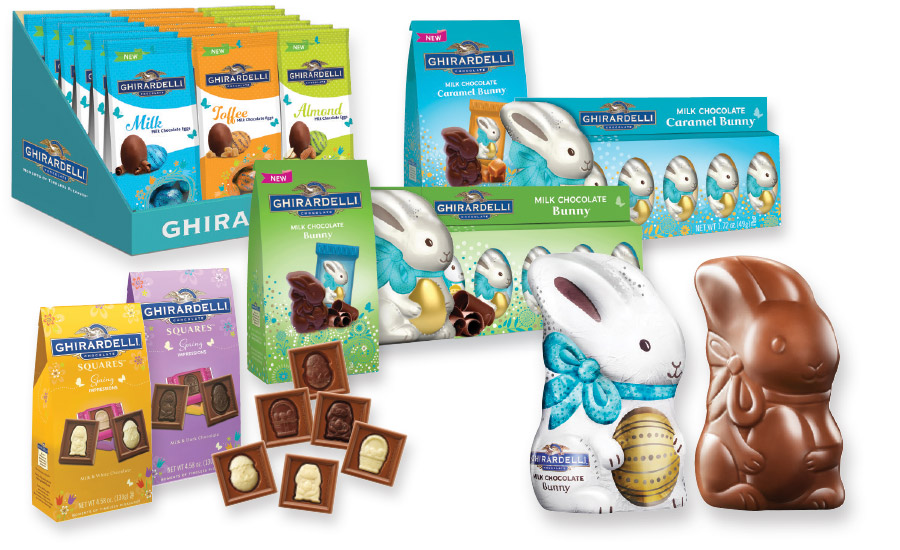 Ghirardelli's 2016 Easter line