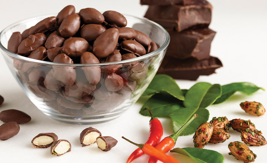Almonds Reboot Chocolate Confectionery