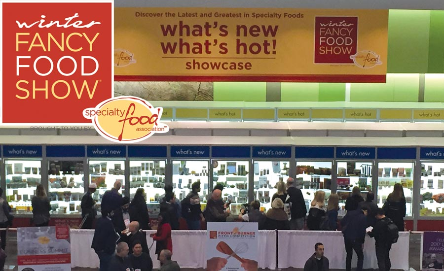 Winter Fancy Food Show break