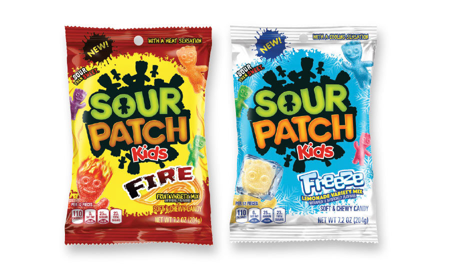 Sour Patch Kids Fire And Freeze 2018 07 19 Candy Industry