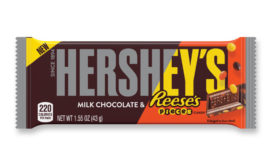 Hershey's milk chocolate bar with Reese's