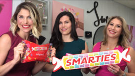 Smarties product packaging