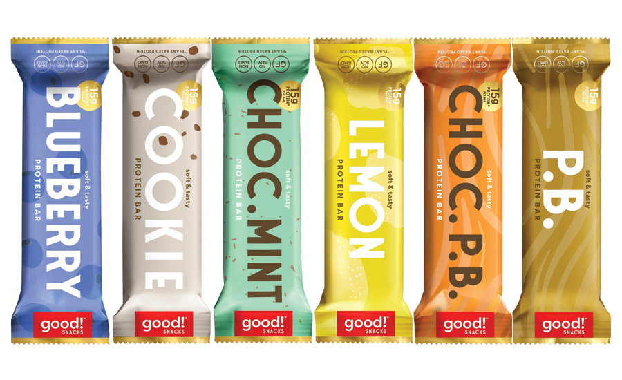 good! snacks plant-based protein bars