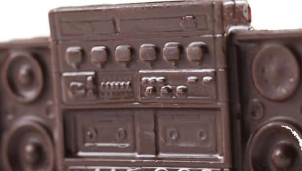 Hip hop chocolates